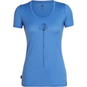 Icebreaker Tech Lite Solo SS Scoop Shirt Women cove
